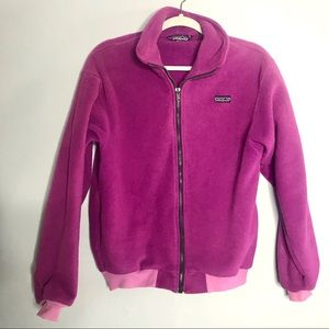 Patagonia Fuchsia Vtg Zip up Jacket